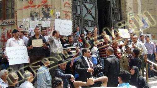 هام وعاجل .. وقفة الأقباط امام دار القضاء ضد حكم المؤبد لأقباط أبو قرقاص اليوم   Wakfa%20%281%29