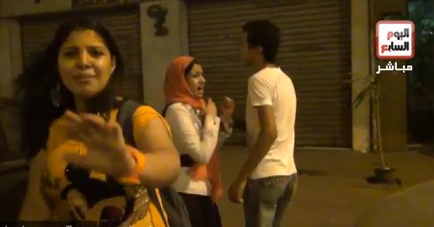 """بالفيديو تعرف على رد فعل ضحية تحرش """" ميدان التحرير """" اثناء جلسة المحاكمة 1 26/6/2014 - 6:11 م"""