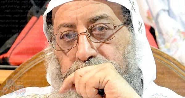 البابا: أزمة مطرانية شبرا يجب أن تحل بالقانون Baba