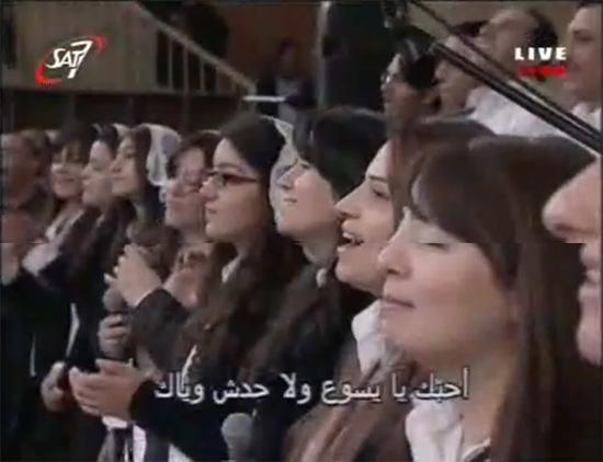 فيديو وصور ليلة الصلاة من اجل مصر بدير القديس سمعان الخراز بالمقطم 13/12/2012 Copts