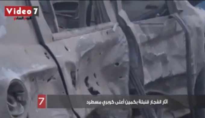تفاصيل الحادث الارهابى بمسطرد بالصور 15 مارس 2014