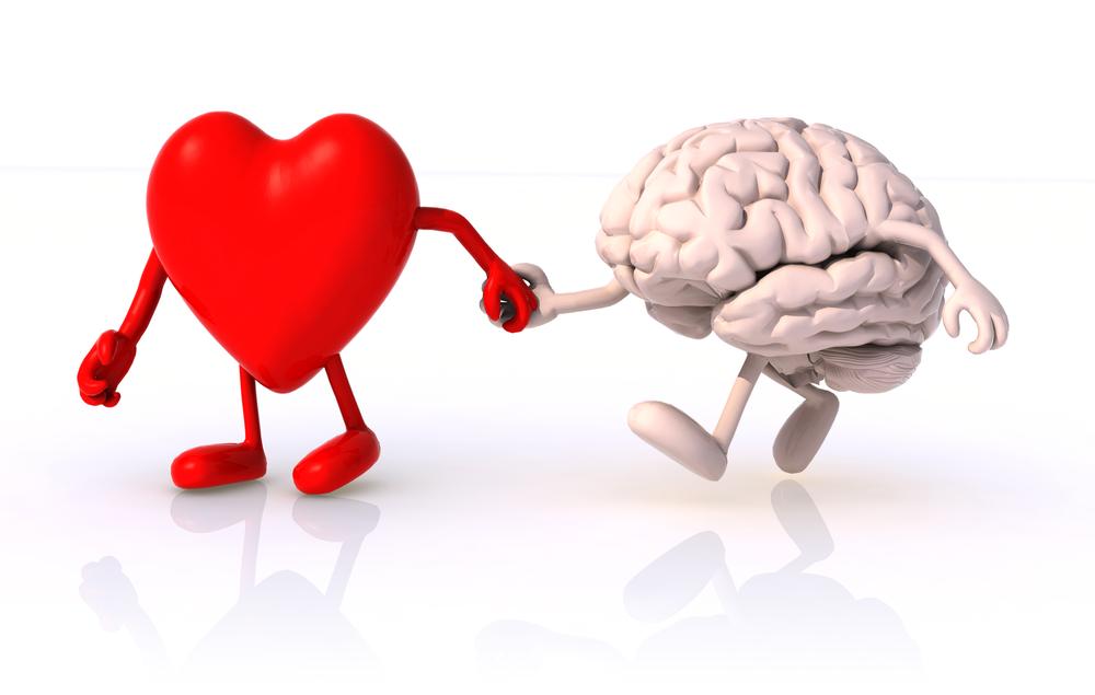 حوار بين قلبي وعقلي