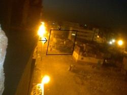 شارع عبد السلام عارف بجوار مباحث أمن الدولة