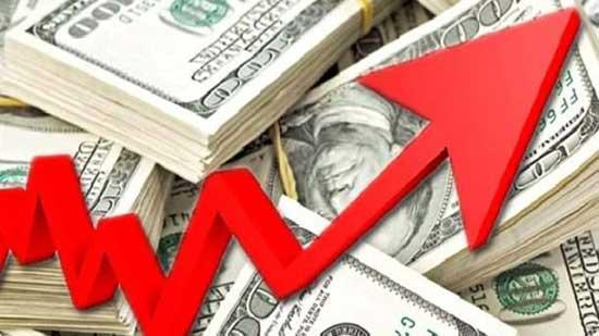 ارتفاع هائل فى سعر الدولار فى بداية التعاملات المسائية اليوم الأربعاء