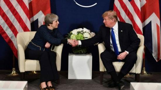 ترمب يبدأ زيارة إلى بريطانيا