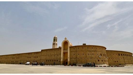 النيابة تكتشف تعطل كاميرات دير أبو مقار وكسر الهارد
