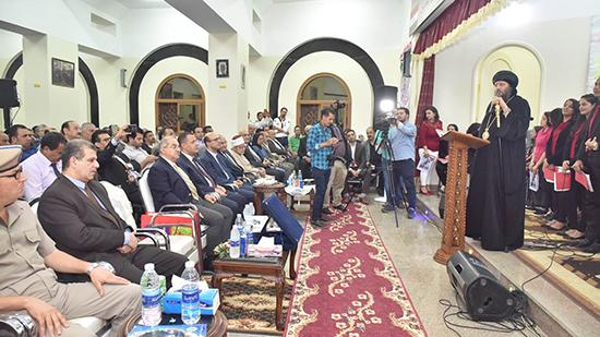 سكرتير عام محافظ أسيوط يشهد حفل تجليس