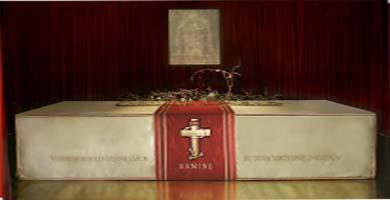 حصريا شرح تفصيلى للكفن المقدس