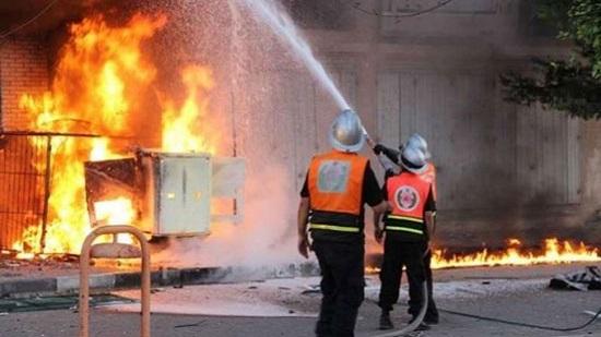 السيطرة على حريق نشب بمخلفات وأشجار بمحيط إحدى المدارس بحدائق القبة