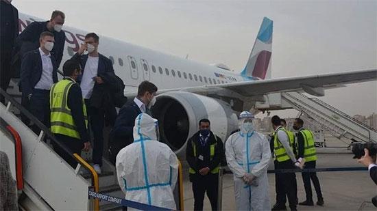 أبرزهم سويسرا.. مطار القاهرة يستقبل اليوم 4 منتخبات مشاركة في مونديال اليد