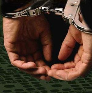 الحبس 4 أيام على ذمة التحقيق لبلطجي اعتدى على ثلاث أشقاء اقباط بسوهاج Arrested
